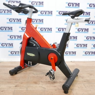 Custom Refurbished Group Indoor Cycle (Red / Chain Driven)