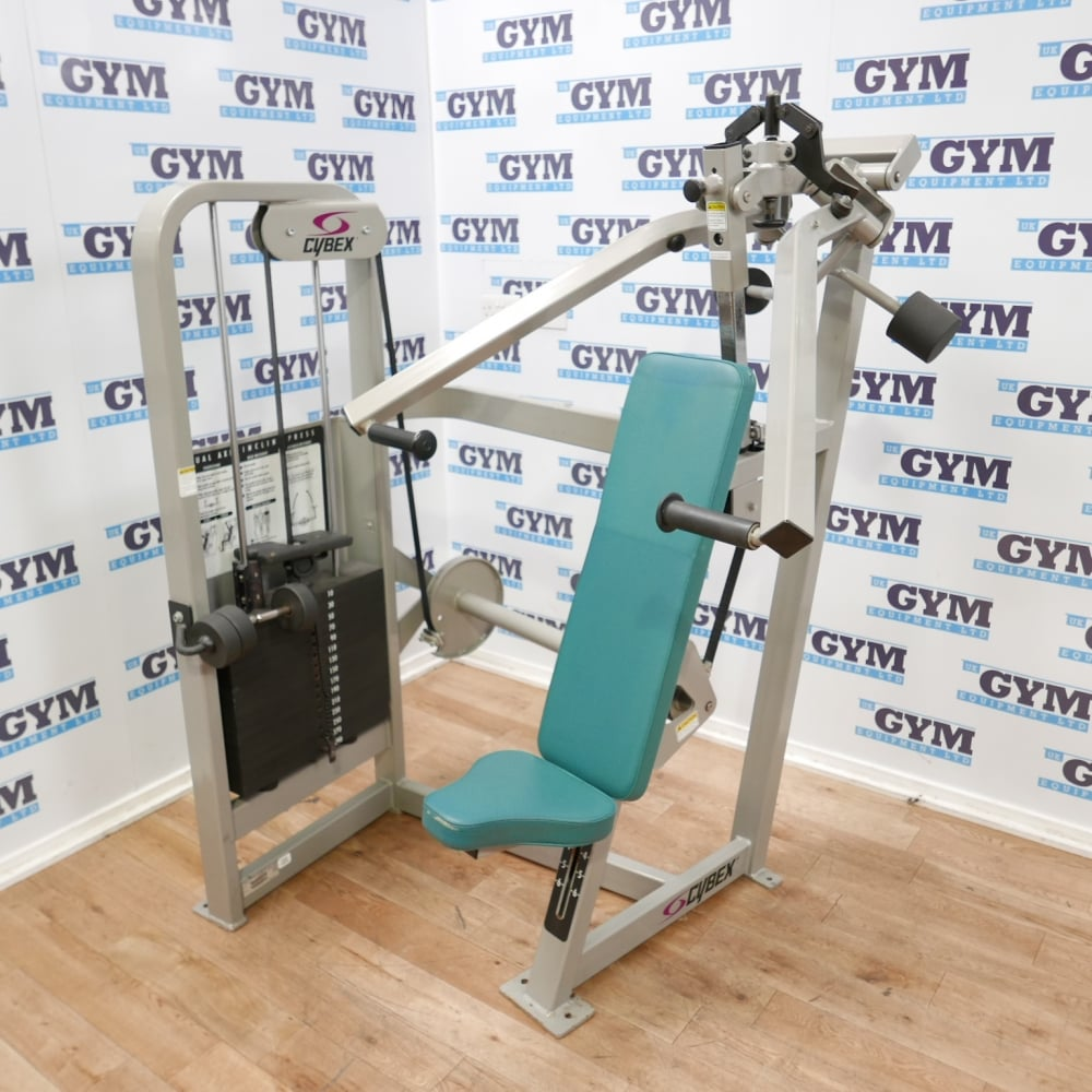 Cybex Treadmill Parts Uk: Used Dual Axis Incline Chest Press