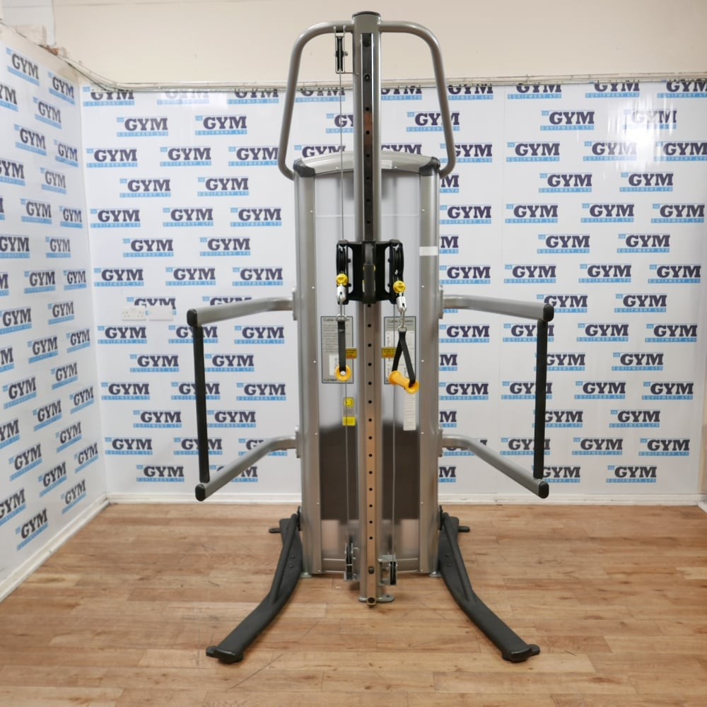 Cybex Treadmill Parts Uk: Used VR3 Dual Grip Single Cable Column