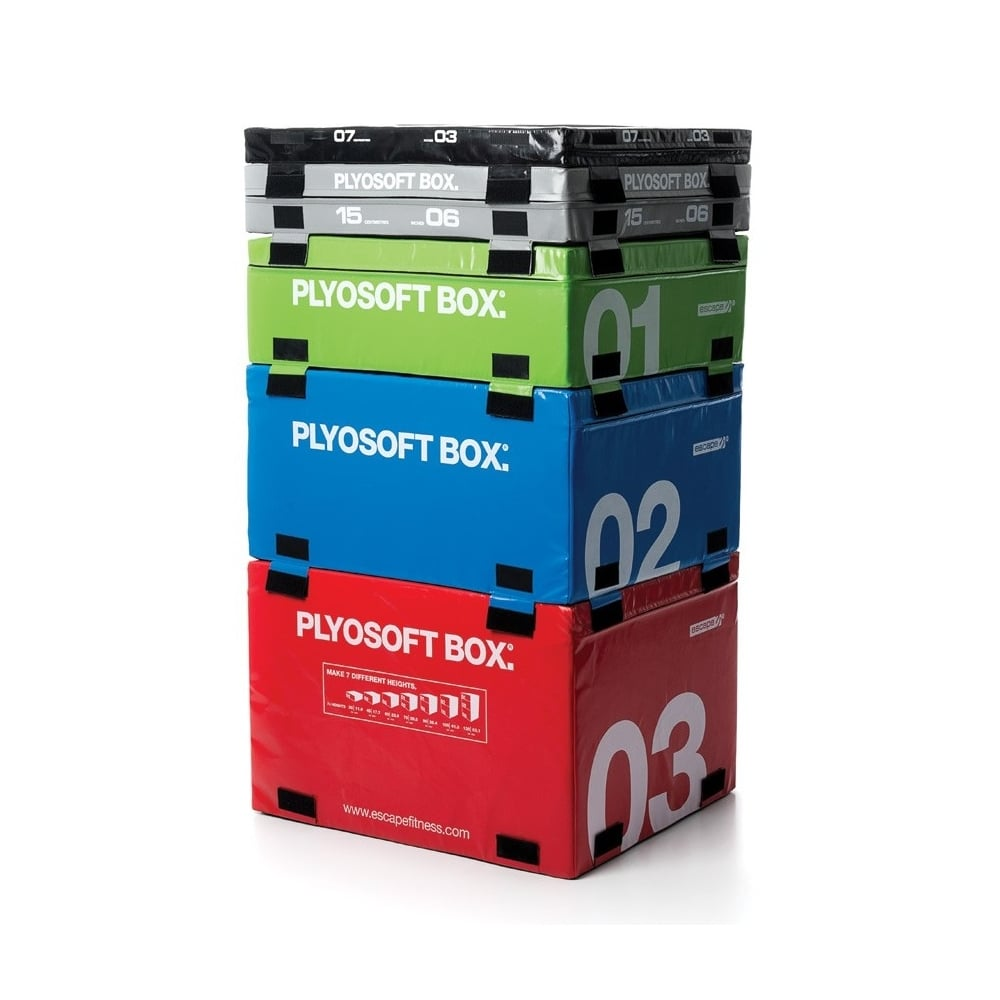 Soft plyometric boxes functional group fitness from uk