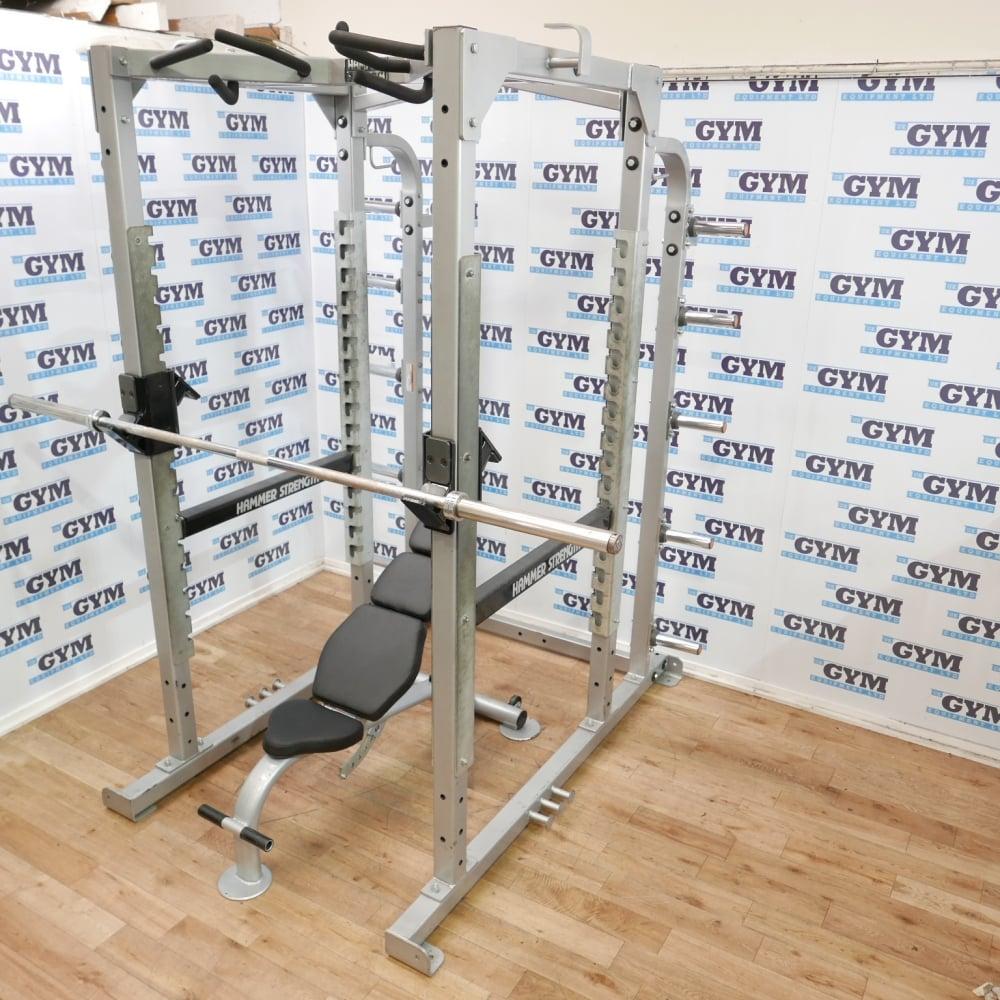 Power Rack & Escape Adjustable Bench