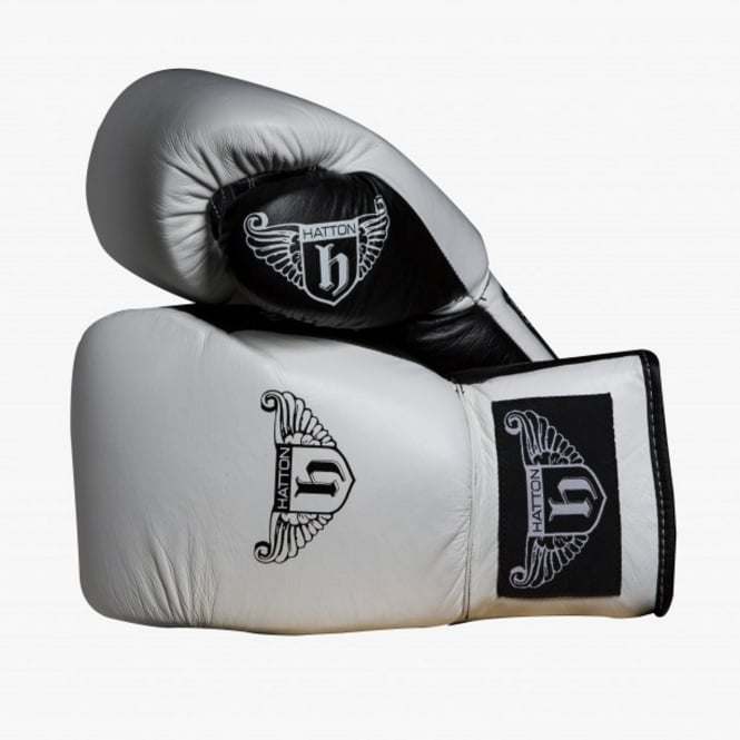 Hatton Boxing Leather Pro Lace Up Sparring Gloves