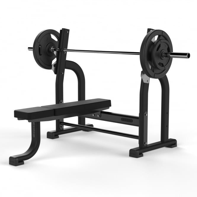 Jordan Fitness Fixed Flat Olympic Bench