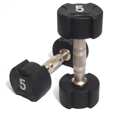 Ignite Rubber Dumbbells