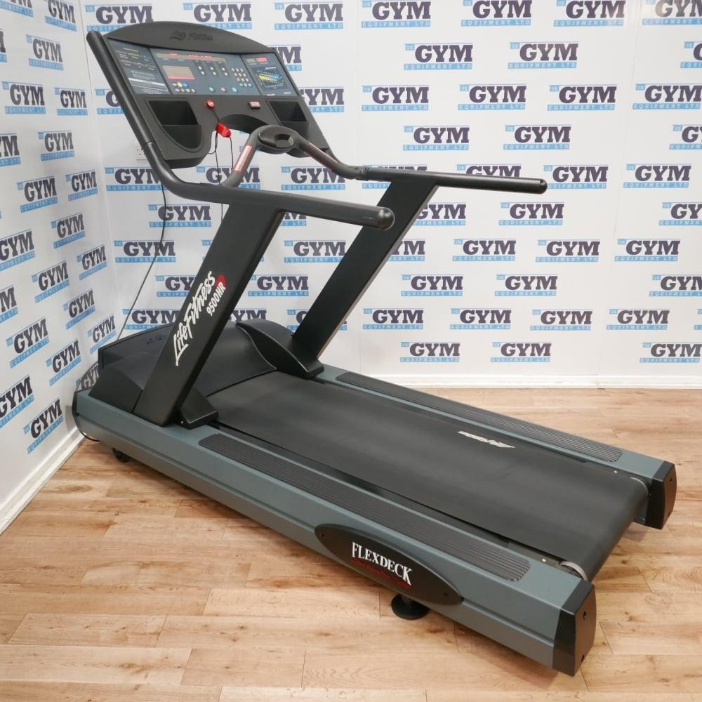 Life Fitness Treadmill Units: Refurbished 9500HR Next Generation Treadmill