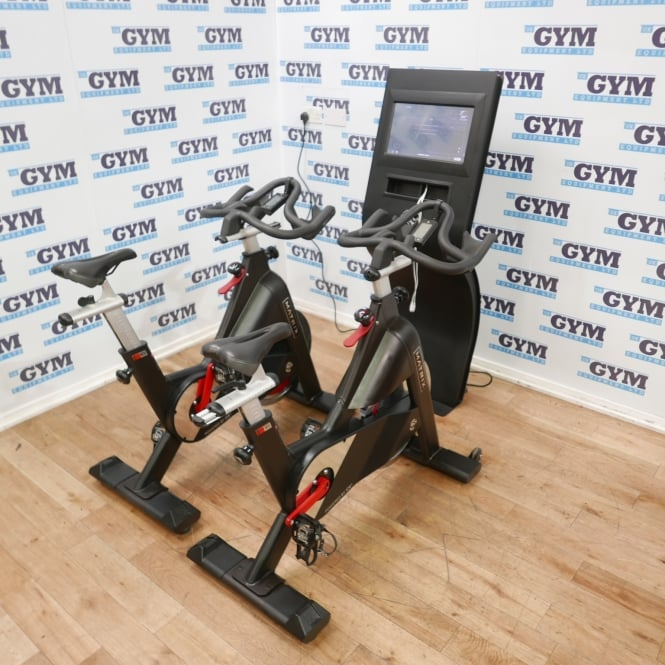 Matrix Fitness 2 x Refurbished ICG IC3 Studio Bikes & My Ride+ Virtual Trainer