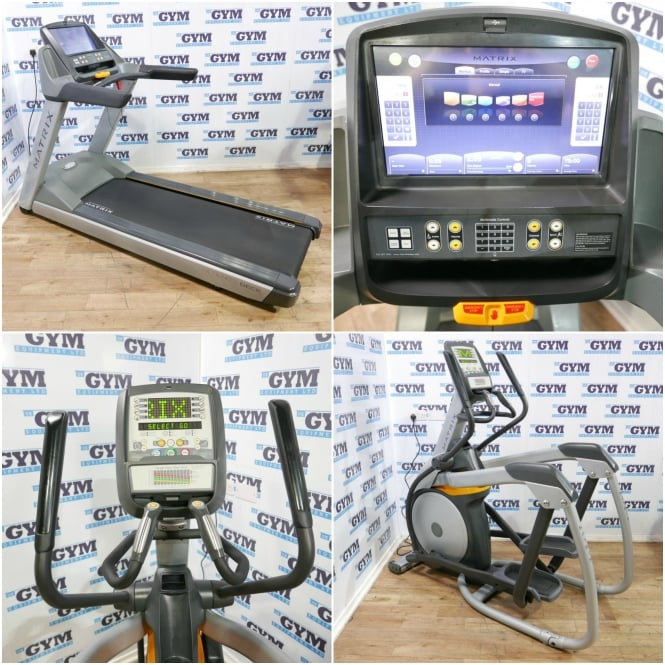 Matrix Fitness Refurbished T3xe Treadmill & A3x Ascent Cross Trainer Package