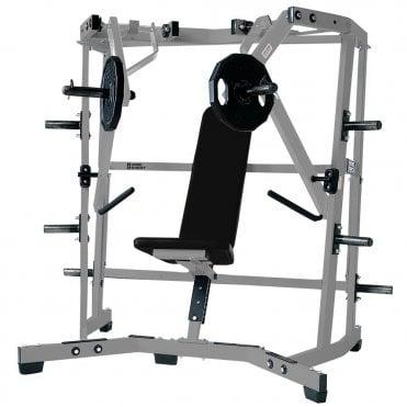 hammer strength egykarú press)