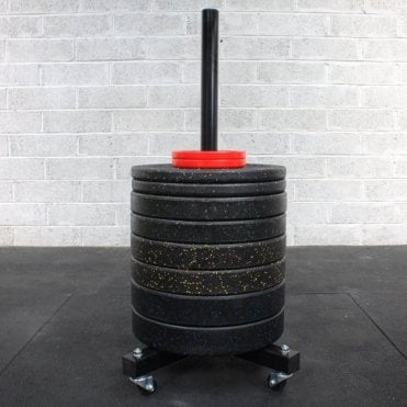 Portable Bumper Plate Storage