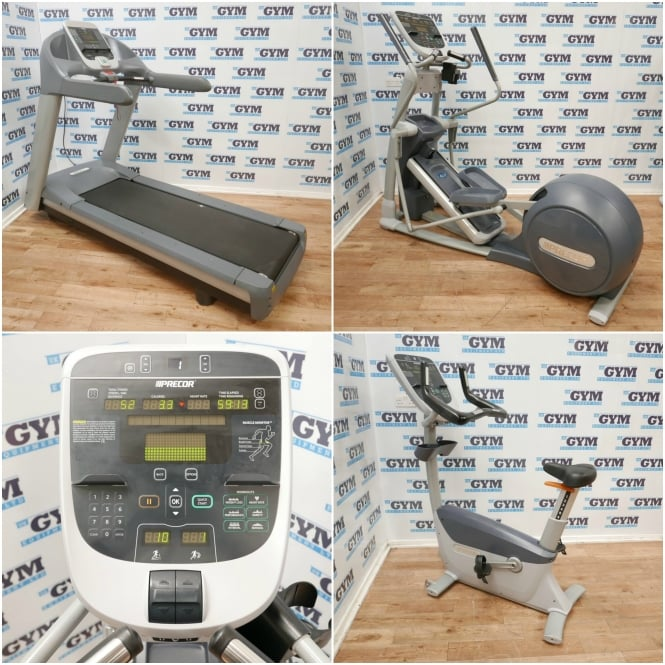 Precor 3 Piece Refurbished Experience Series Package