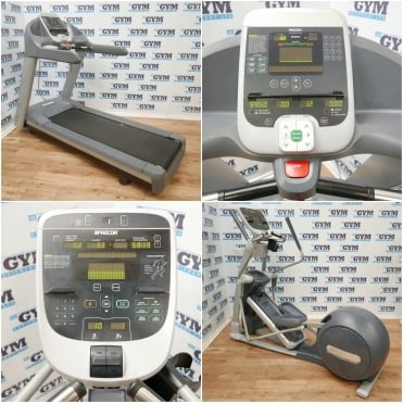 Refurbished 956i Treadmill & EFX 835 Total-Body Cross Trainer Package