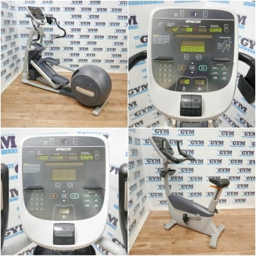 Refurbished EFX 833 Lower-Body Cross Trainer & UBK 835 Upright Bike Package