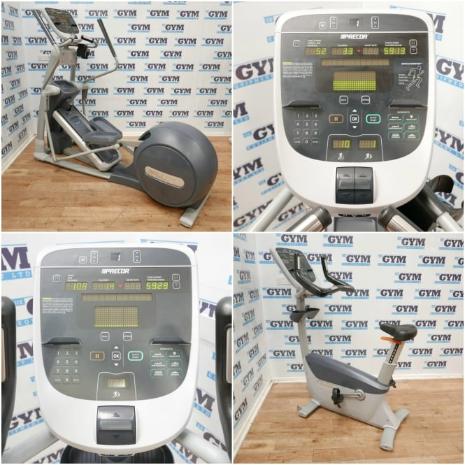 Refurbished EFX 835 Total-Body Cross Trainer & UBK 835 Upright Bike Package