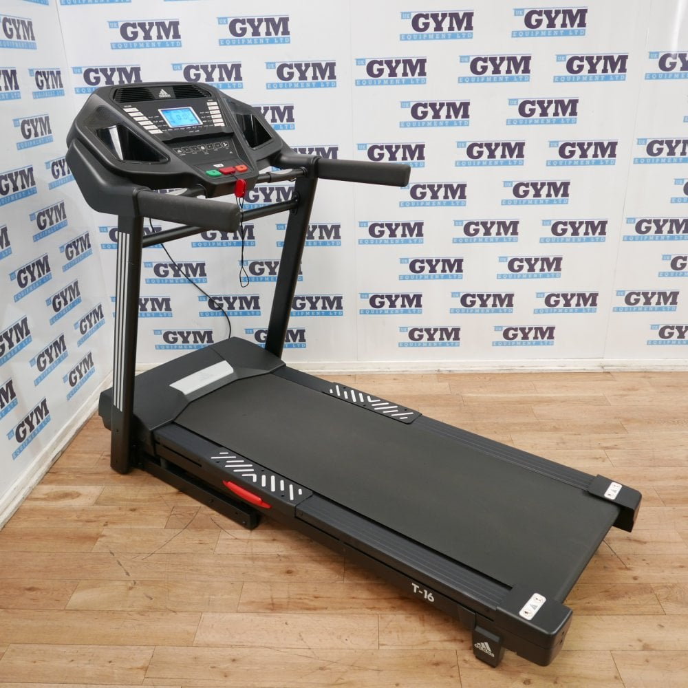 comercio maceta básico  Serviced Adidas T-16 Folding Treadmill (Home Use) - Cardio Machines from UK  Gym Equipment Ltd UK