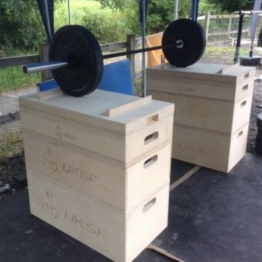 Set of Wooden Olympic Jerk / Technique Boxes