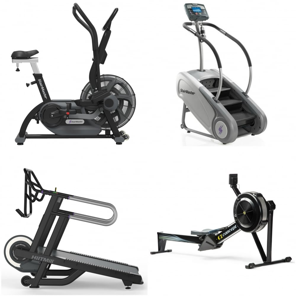 Home use hiit package hiitmill stepmill airfit