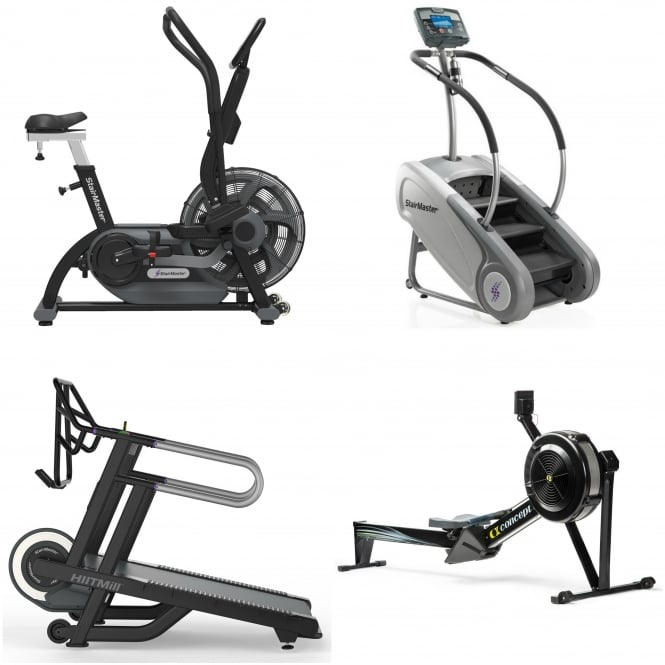 Home-Use Hiit Package 1 - HiitMill, Stepmill, AirFit & Indoor Rower