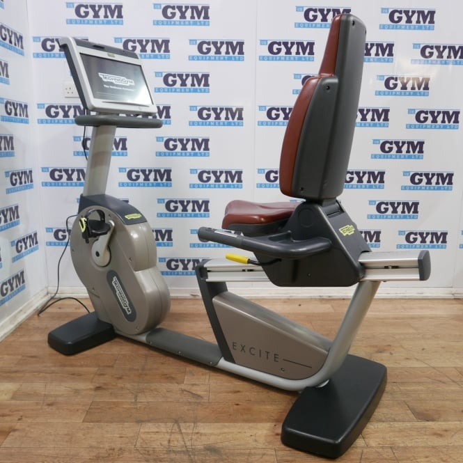 Refurbished Excite+ Visio Recumbent Bike (Brown Seat)