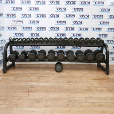 Used 1 - 24kg Dumbbells & Rack