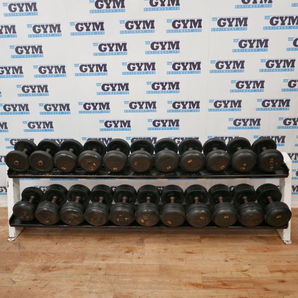 Ivanko Weight Rack: 30kg Dumbbells & Rack