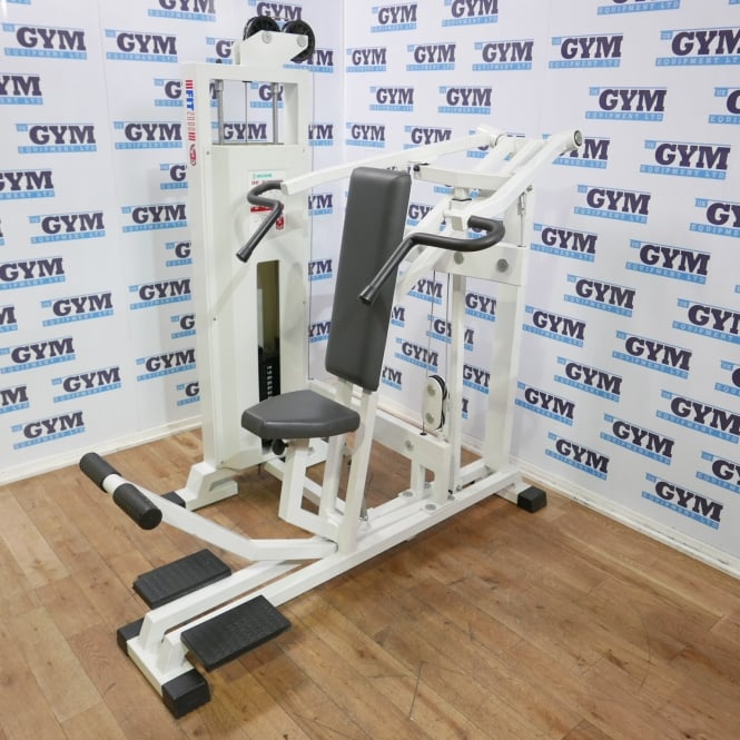 Used Panatta Converging Independent Shoulder Press