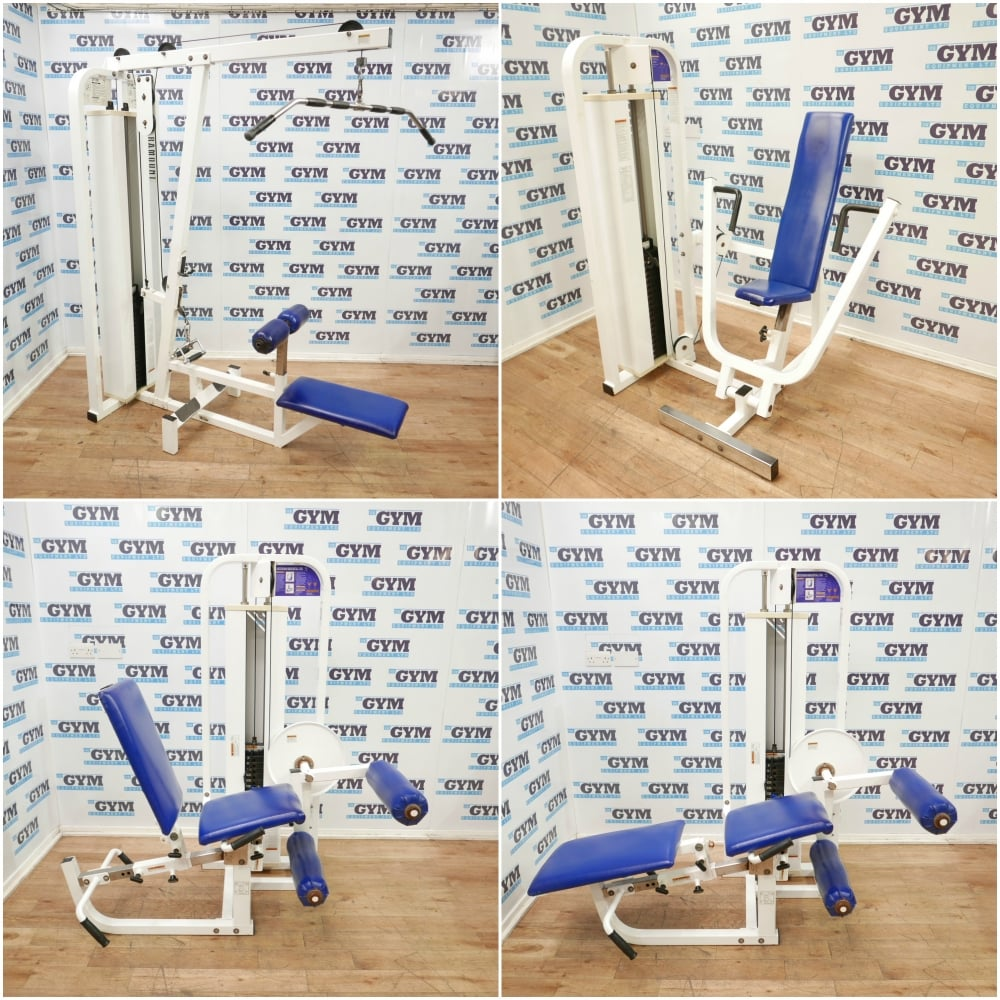 Used paramount piece home gym garage strength package