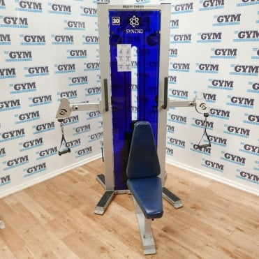 Used Sportesse Synchro Chest Press
