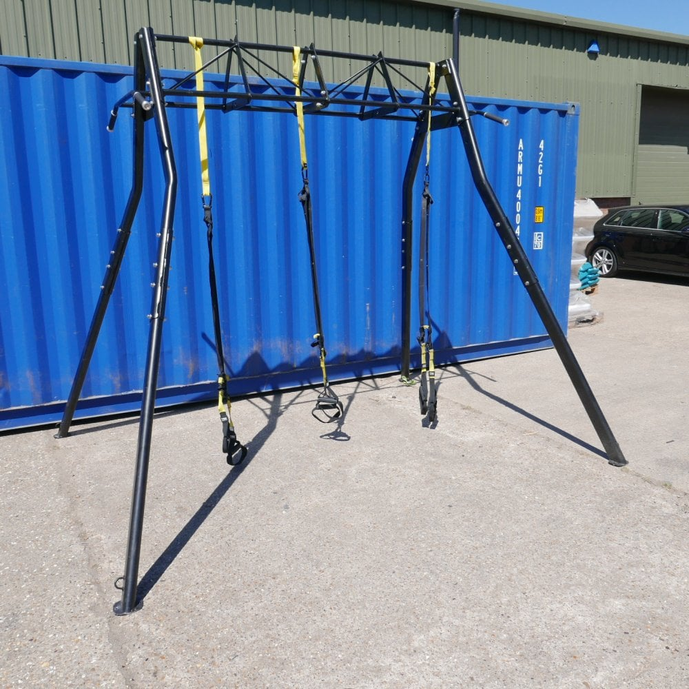 Used TRX Suspension Training Frame and 3 x TRX Straps - All Used ...