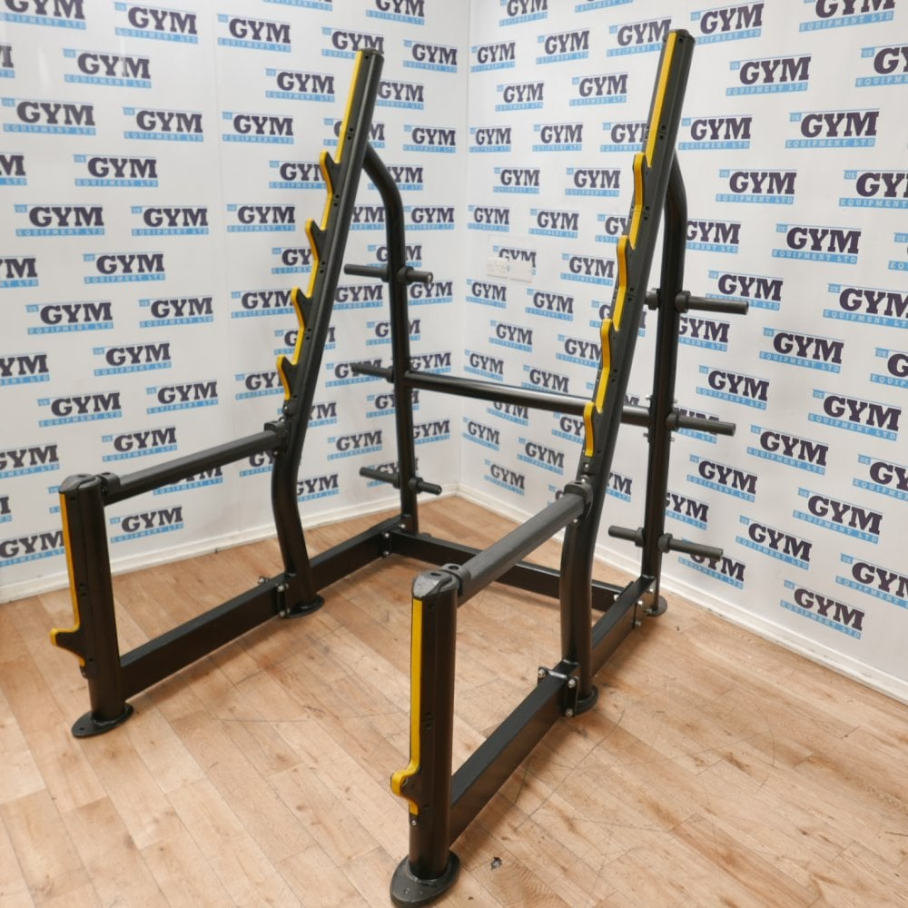 Used Squat Rack >> Used Unbranded Heavy Duty Squat Rack Strength Training From Uk Gym