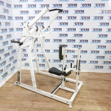 Used Unbranded Plate Loaded Lat Pulldown